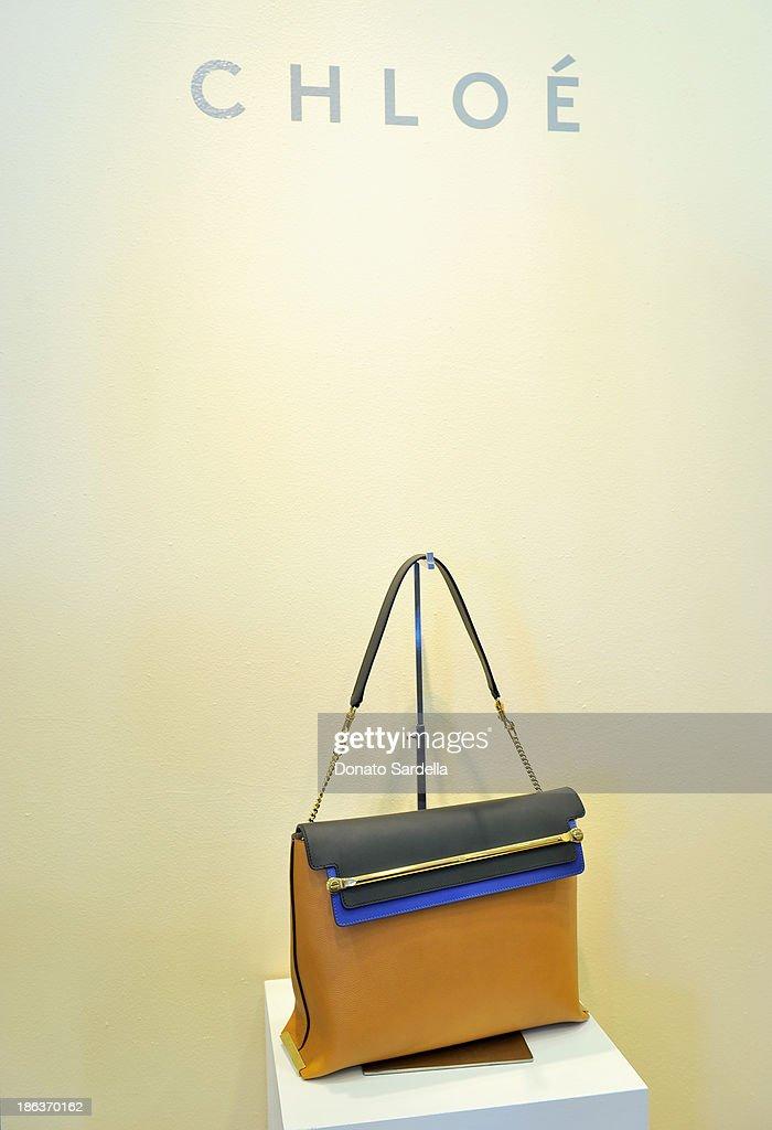"Barneys New York, Angela Lindvall & Tomoko Ogura Celebrate Clare Waight Keller And The Launch Of The ""Claire"" Handbag : News Photo"