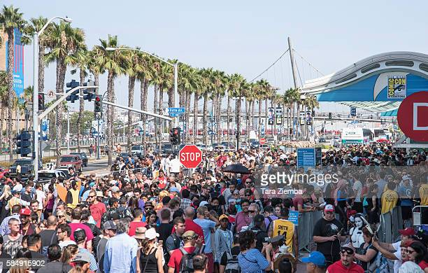 General view of the atmosphere at ComicCon International 2016 on July 20 2016 in San Diego California