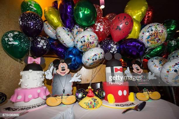 General View Of The Atmosphere At Dem Babies Sixth Birthday Bash Disneyland On April 30