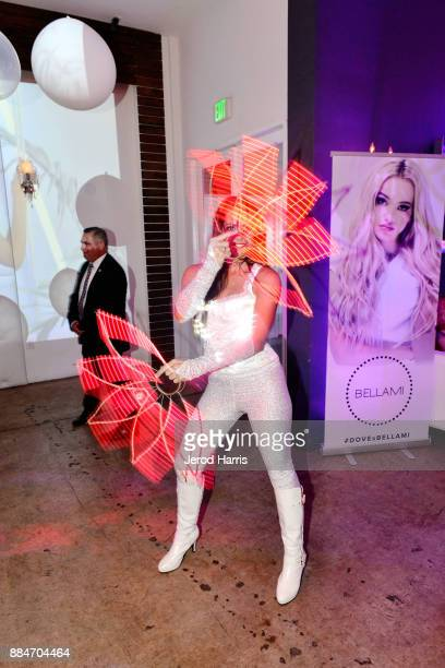 A general view of the atmosphere at Dove Cameron x BELLAMI Launch Party at Unici Casa Gallery on December 2 2017 in Culver City California