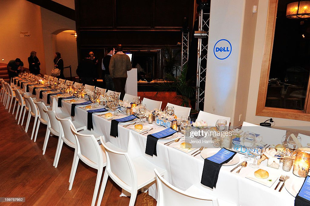 A general view of the atmosphere at Drink and Dine with Dell and #Inspire 100 Honorees at Sundance Film Festival on January 19, 2013 in Park City, Utah.