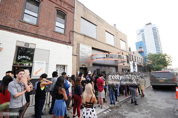 General view of the atmosphere at Easy Breezy Brooklyn hosted by Becky G and presented by MTV and COVERGIRL at Music Hall of Williamsburg on August...