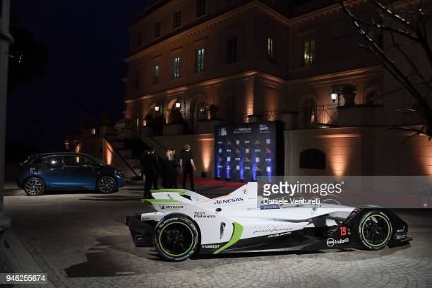 A General View Of The Atmosphere At Fia Formula E Gala Dinner Villa Miani On