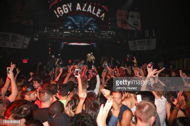 A general view of the atmosphere at Iggy Azalea's 'Change Your Life' EP Release Celebration And Performance at Marquee on October 3 2013 in New York...