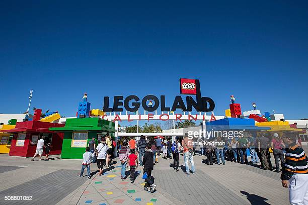 General view of the atmosphere at LEGOLAND on February 6 2016 in Carlsbad California
