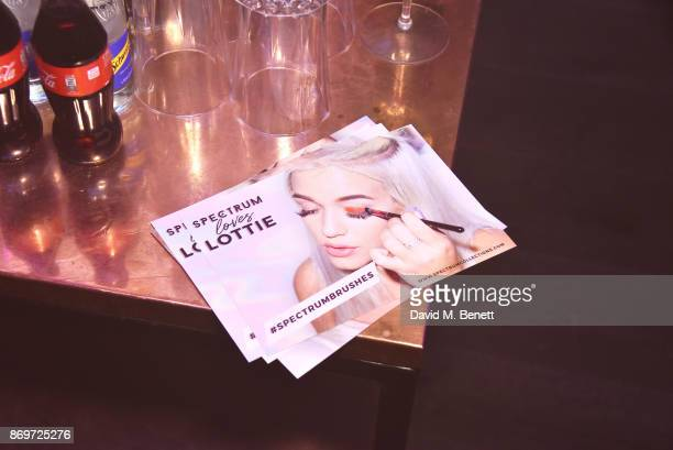 A general view of the atmosphere at Lottie Tomlinson's 'Rainbow Roots' book launch at Tape London on November 2 2017 in London England