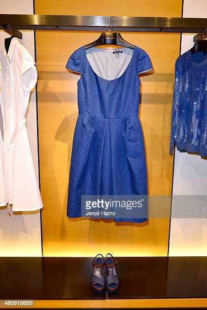 A general view of the atmosphere at Louis Vuitton with Vogue and Michelle Janavs discover the Women's ReadyToWear Collection on March 27 2014 in...