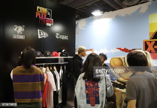 A general view of the atmosphere at New Era Cap 2017 Complex Con Ambassador Collab lounge with A$AP Ferg Mike Will MadeIT Jerry Lorenzo Takashi...