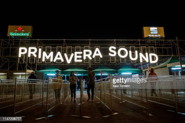 General view of the atmosphere at of Parc del Forum during Primavera Sound on May 31, 2019 in Barcelona, Spain.