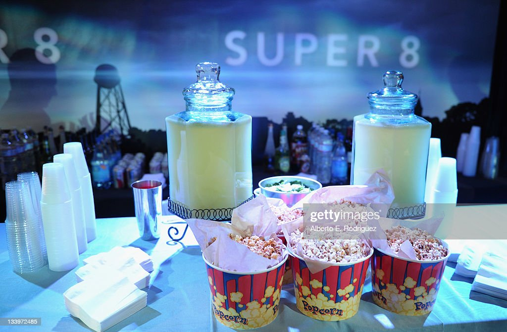 A general view of the atmosphere at Paramount Pictures' 'Super 8' Blu-ray and DVD release party at AMPAS Samuel Goldwyn Theater on November 22, 2011 in Beverly Hills, California.