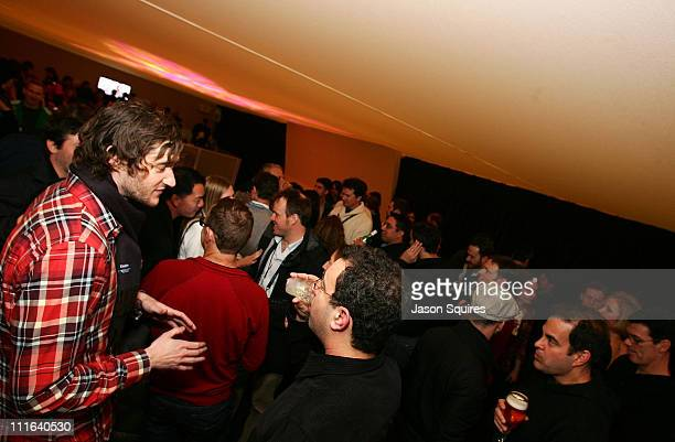 A general view of the atmosphere at the '500 Days of Summer' Party at the EW Lodge on January 17 2009 in Park City Utah