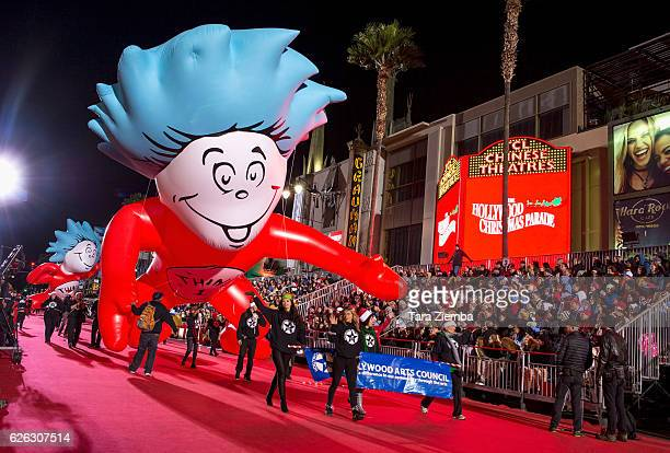 General view of the atmosphere at the 85th Annual Hollywood Christmas Parade on November 27 2016 in Hollywood California