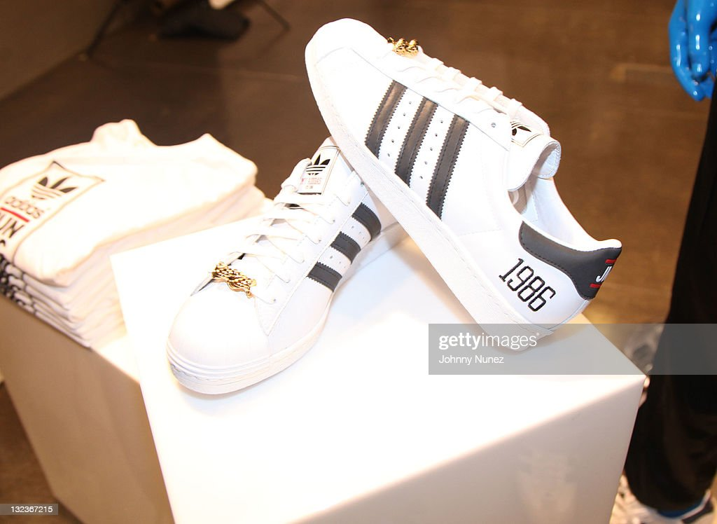 A general view of the atmosphere at the Adidas - SOHO store on November 11,