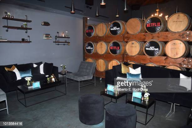A general view of the atmosphere at the after party for a screening of Netflix's 'All About The Washingtons' on August 8 2018 in Hollywood California