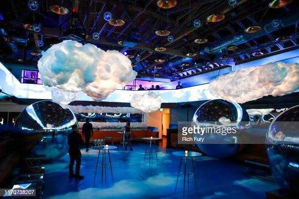"General view of the atmosphere at the after party for the premiere of Netflix's ""Travis Scott: Look Mom I Can Fly"" on August 27, 2019 in Santa..."