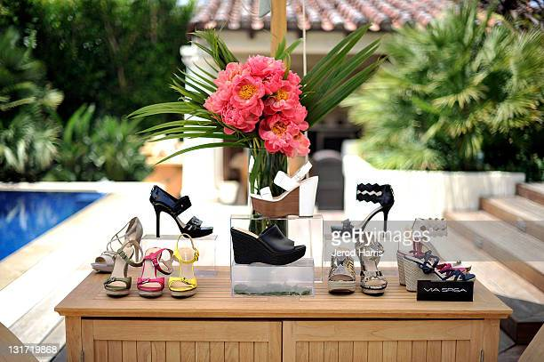 A general view of the atmosphere at the Alison Brod Public Relations Los Angeles Summer Style Event on June 15 2011 in Beverly Hills California
