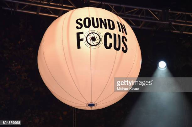 A general view of the atmosphere at the Annenberg Foundation and KCRW's Sound In Focus concert at Annenberg Space For Photography on July 29 2017 in...