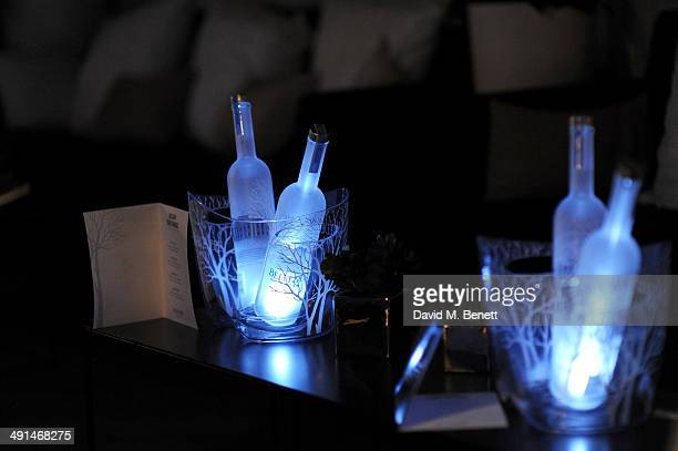 General view of the atmosphere at the Belvedere Vodka's Cannes party featuring a performance from Rita Ora on May 16 2014 in Cannes France