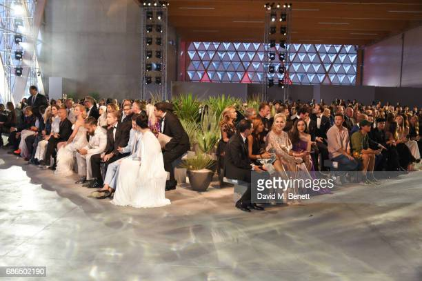A general view of the atmosphere at the Fashion for Relief event during the 70th annual Cannes Film Festival at Aeroport Cannes Mandelieu on May 21...