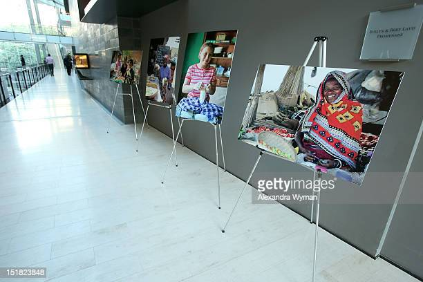 General view of the atmosphere at the FINCA Canada Fundraiser At TIFF 2012 during the Toronto International Film Festival on September 11 2012 in...