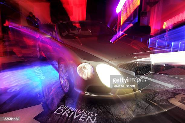A general view of the atmosphere at the HR Owen and Boujis Mayfair Party to launch the Bentley Continental GT V8 in partnership with MasterCard's...