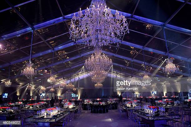 A general view of the atmosphere at The Inaugural Diamond Ball presented by Rihanna and The Clara Lionel Foundation at The Vineyard on December 11...