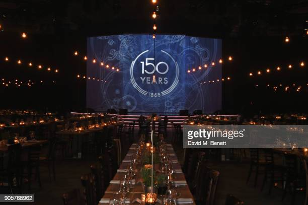 A general view of the atmosphere at the IWC Schaffhausen Gala celebrating the Maison's 150th anniversary and the launch of its Jubilee Collection at...