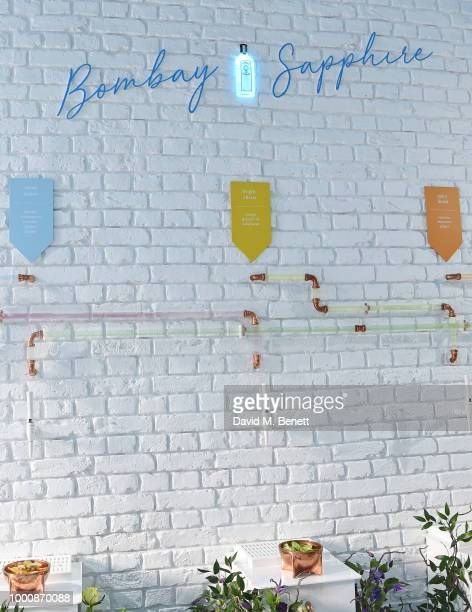 A general view of the atmosphere at the launch of Bombay Sapphire's 'Canvas' a destination designed to stir creativity and inspire creative...