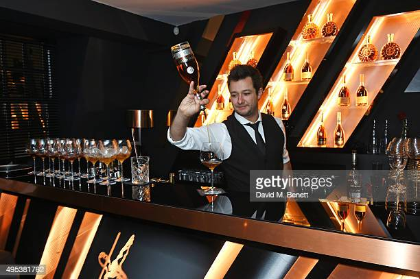 A general view of the atmosphere at the launch of La Maison Remy Martin the cognac brand's new members club on November 2 2015 in London England
