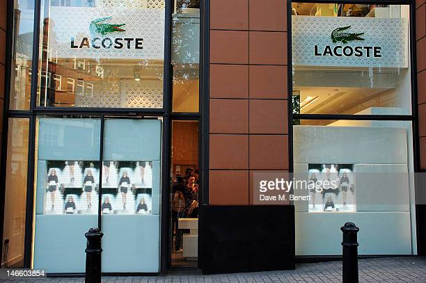 get new new specials huge selection of World's Best Lacoste Launch London Flagship Store Inside ...