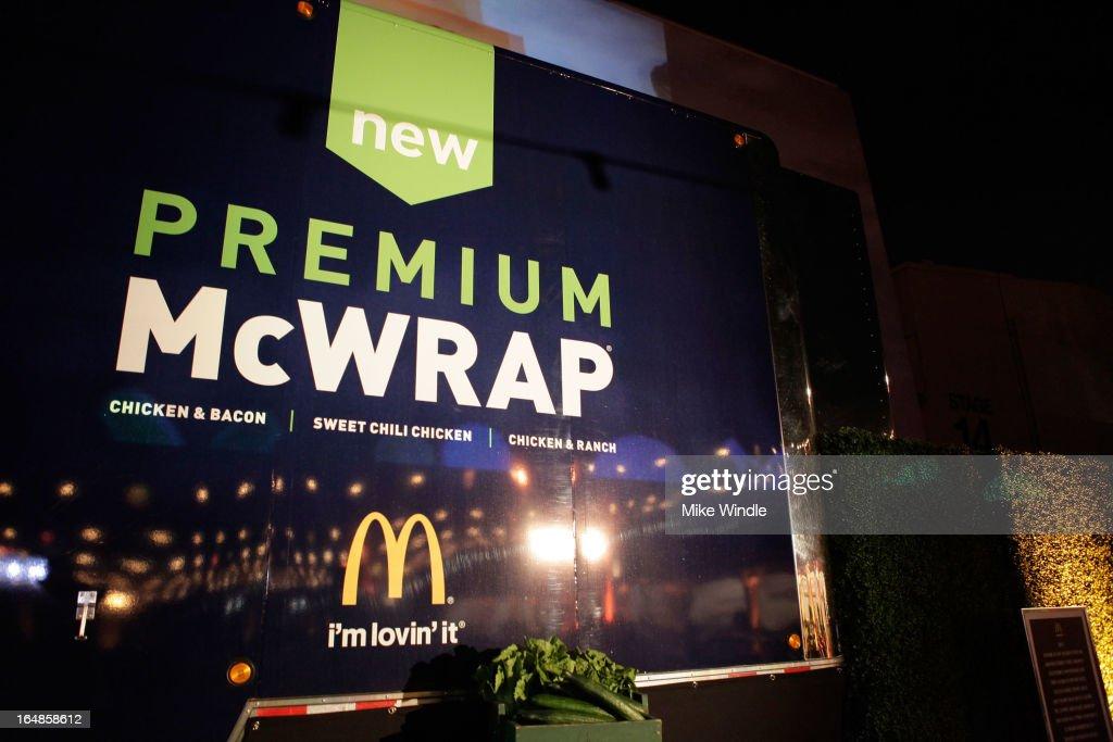 McDonald's Premium McWrap Launch Party : News Photo