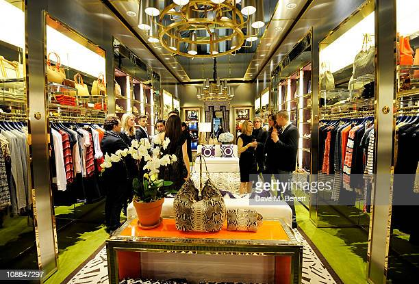 282239221d8 A general view of the atmosphere at the launch of the new Tory Burch shop on