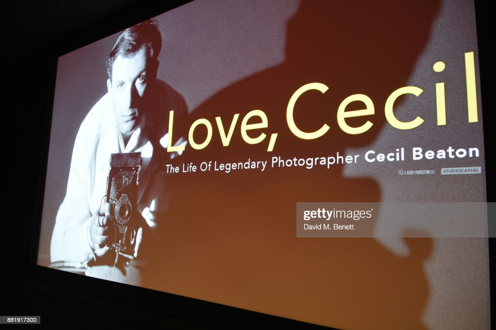 A general view of the atmosphere at the LOVE, CECIL special preview screening with director Lisa Immordino Vreeland at Soho Hotel on November 29, 2017 in London, England.