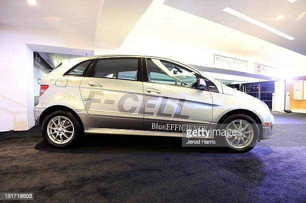 A general view of the atmosphere at the MercedesBenz Oscar Viewing Party at the Soho House on February 27 2011 in West Hollywood California