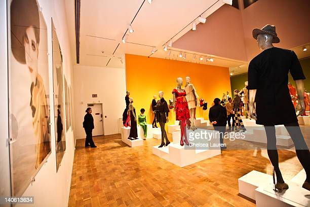 "General view of the atmosphere at the MOCA Leadership Circle reception and members' opening for ""The Total Look: The Creative Collaboration Between..."