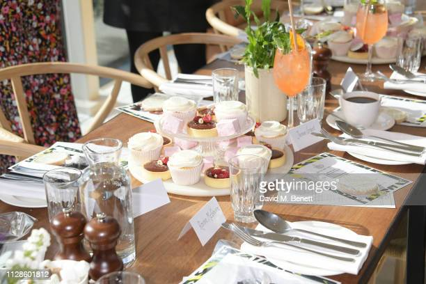 A general view of the atmosphere at the mothers2mothers Wonder Women Tea at Bourne Hollingsworth's Garden Room on March 4 2019 in London England