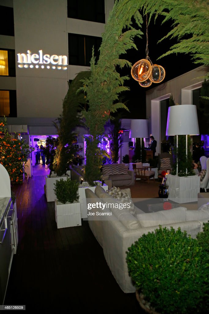 Nielsen Hosts Pre GRAMMY Award Celebration At The Mondrian Los Angeles : News Photo