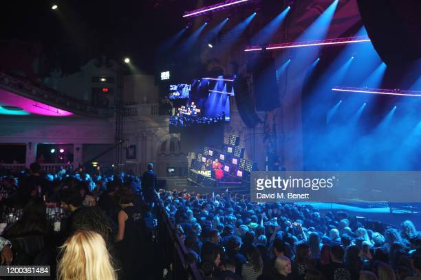 A general view of the atmosphere at The NME Awards 2020 at the O2 Academy Brixton on February 12 2020 in London England