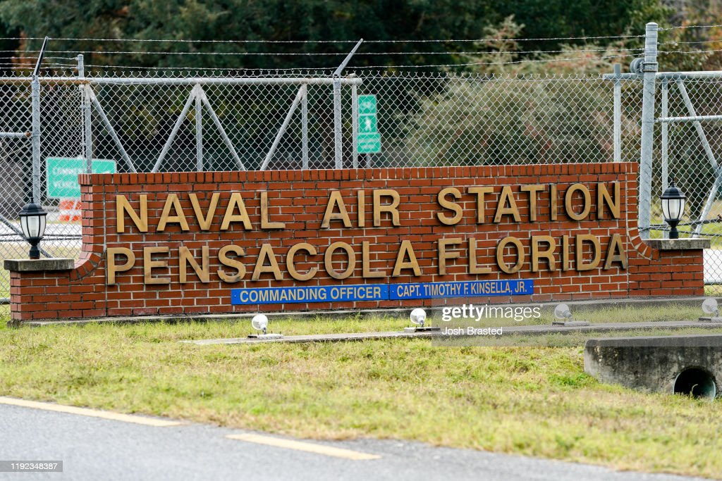 Shooting On Naval Air Station Pensacola Leaves Multiple Dead And Injured : Nieuwsfoto's