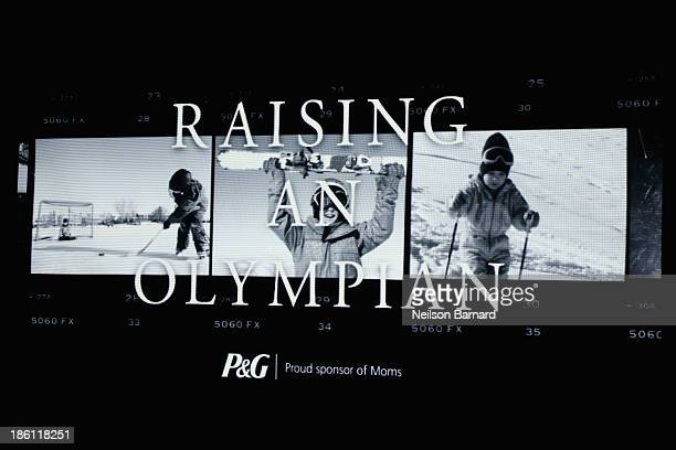 A general view of the atmosphere at the PG kickoff of the 2014 Sochi Olympic Winter Games 'Thank You Mom' campaign with a screening of their 'Raising...