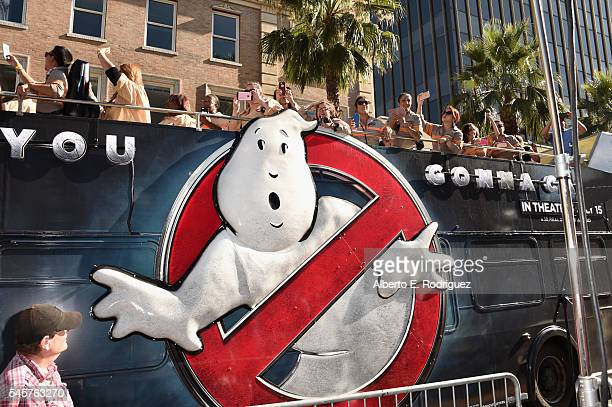 General view of the atmosphere at the Premiere of Sony Pictures' 'Ghostbusters' at TCL Chinese Theatre on July 9, 2016 in Hollywood, California.