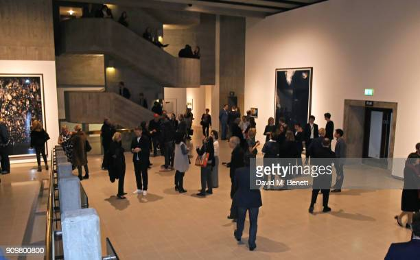 A general view of the atmosphere at the reopening of The Hayward Gallery featuring the first major UK retrospective of the work of German...