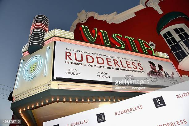 A general view of the atmosphere at the Screening Of Samuel Goldwyn Films' Rudderless at the Vista Theatre on October 7 2014 in Los Angeles California