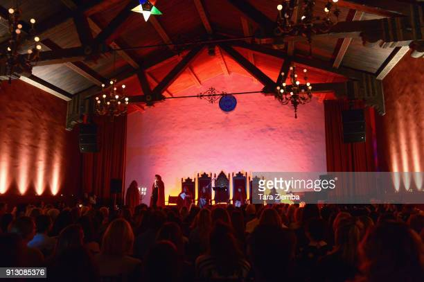 General view of the atmosphere at The Secret Society Of The Sisterhood at The Masonic Lodge at Hollywood Forever on January 31 2018 in Los Angeles...