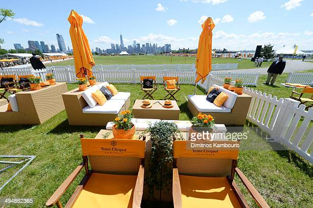 General view of the atmosphere at the seventh annual Veuve Clicquot Polo Classic in Liberty State Park on May 31 2014 in Jersey City City
