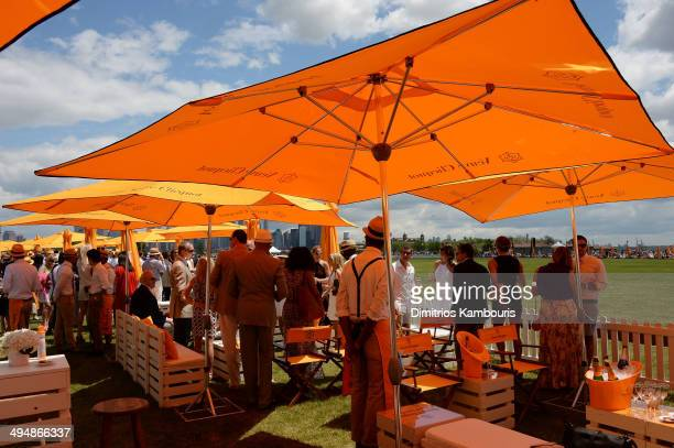 A general view of the atmosphere at the seventh annual Veuve Clicquot Polo Classic in Liberty State Park on May 31 2014 in Jersey City City