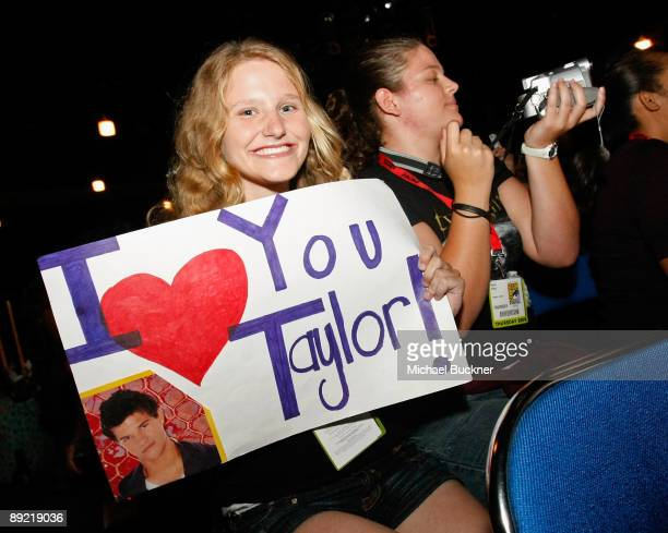 General view of the atmosphere at The Twilight Saga New Moon Summit Entertainment Panel during ComicCon 2009 held at San Diego Convention Center on...