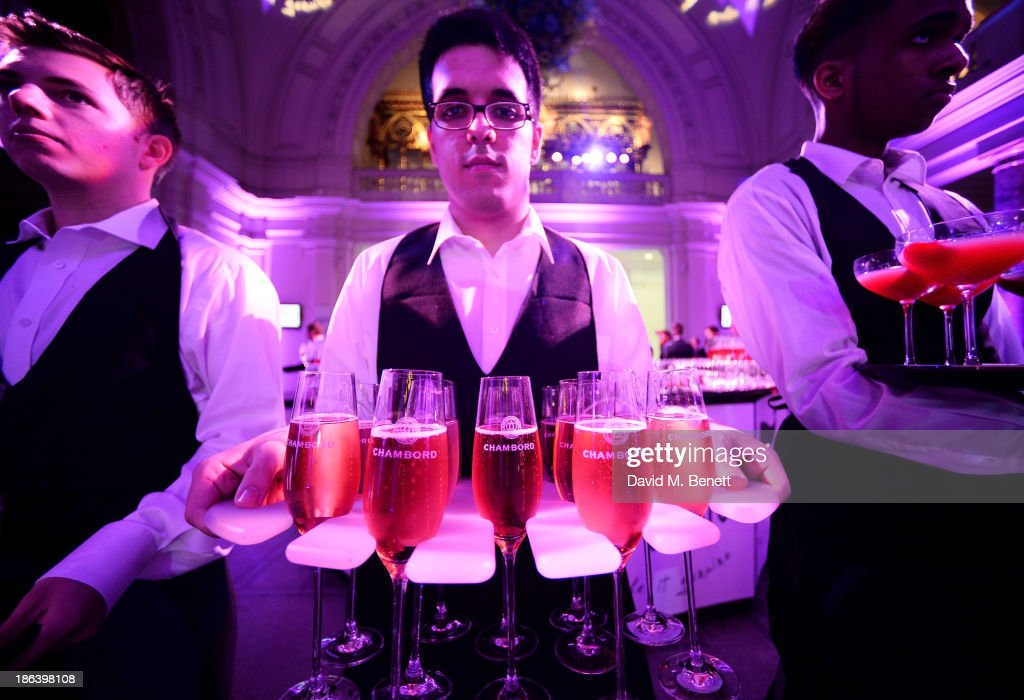 A general view of the atmosphere at The WGSN Global Fashion Awards at the Victoria & Albert Museum on October 30, 2013 in London, England.