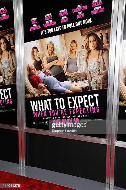 A general view of the atmosphere at the What To Expect When You're Expecting New York Screening at AMC Lincoln Square Theater on May 8 2012 in New...