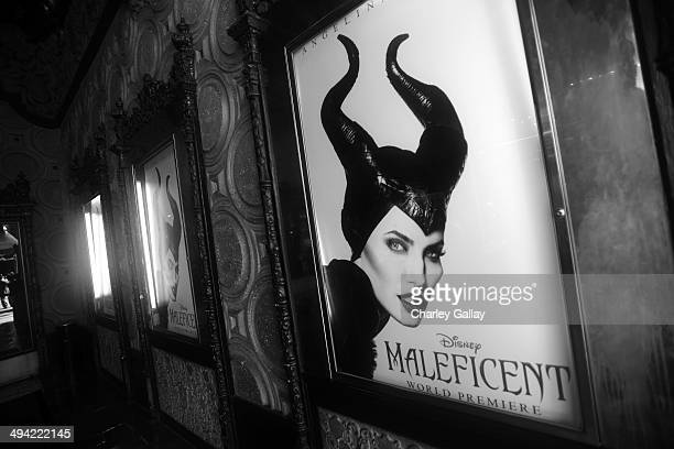 """General view of the atmosphere at the World Premiere of Disney's """"Maleficent"""", starring Angelina Jolie, at the El Capitan Theatre on May 28, 2014 in..."""